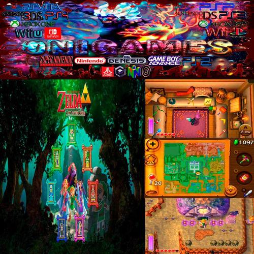oni games - zelda a link between worlds 3ds