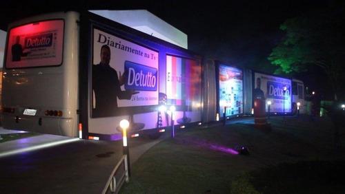 onibus balada outdoor móvel para eventos e propagandas