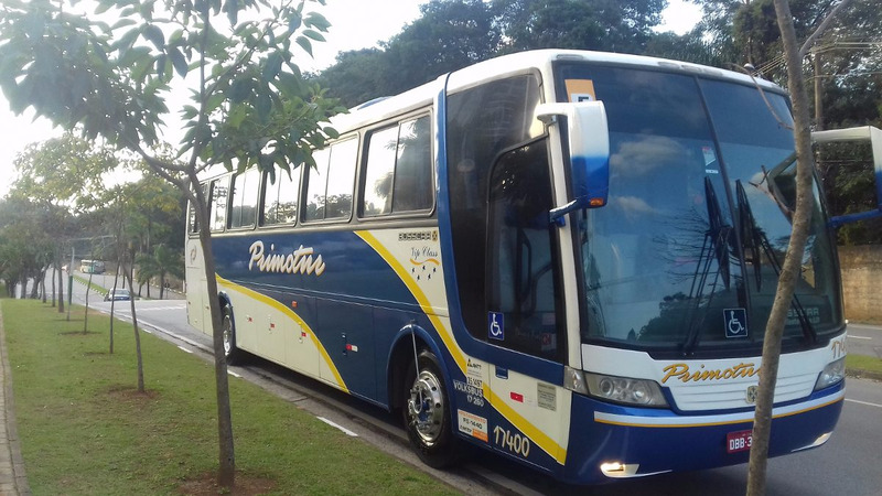 onibus busscar vw 17.260 completo 2º dono - 2005