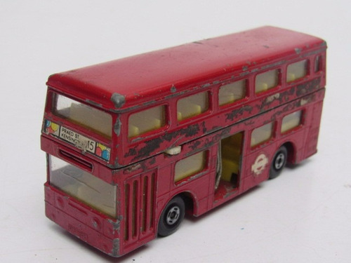 onibus double decker matchbox super kings made in england