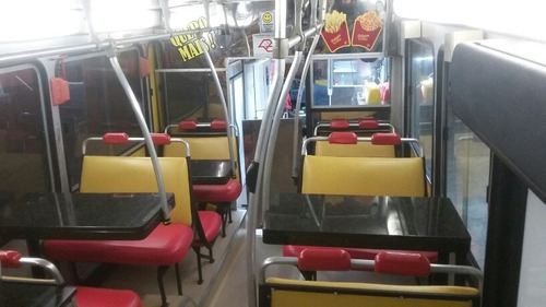onibus food truck  food truck ricardo costa ex-polegar