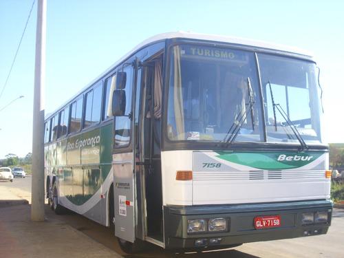onibus marcopolo viaggio alto scania k 112, troco em van ou
