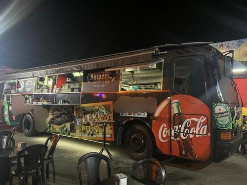 onibus mercedez benz food truck e afins