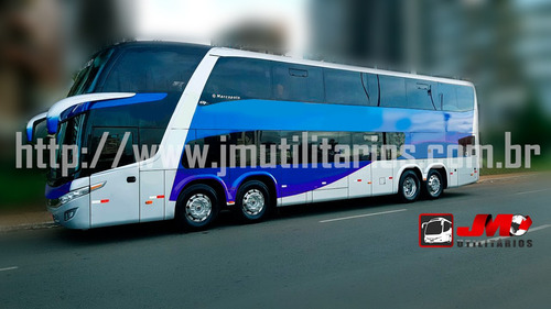 onibus paradiso dd g7 ano 2014 scania k400 56 lg  jm cod.88