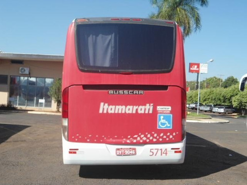 onibus rodoviario mercedes benz o500 r busscar 2008