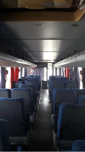onibus semi rodoviario , mercedes benz , marcopolo , 2007