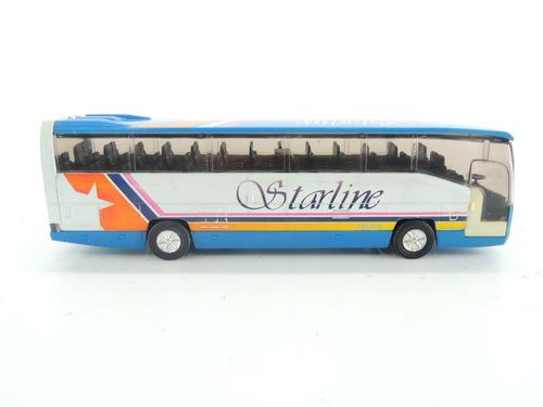 onibus ss9851 tourbus starline miniatura perfeita
