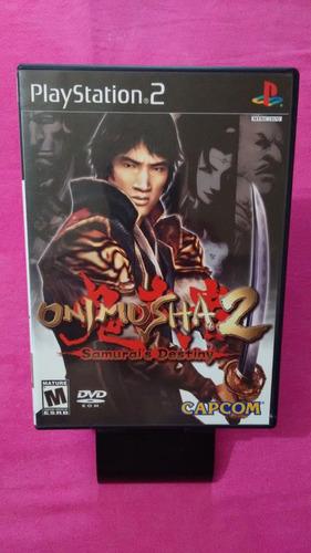 onimusha 2 samurai's destiny original americano ps2