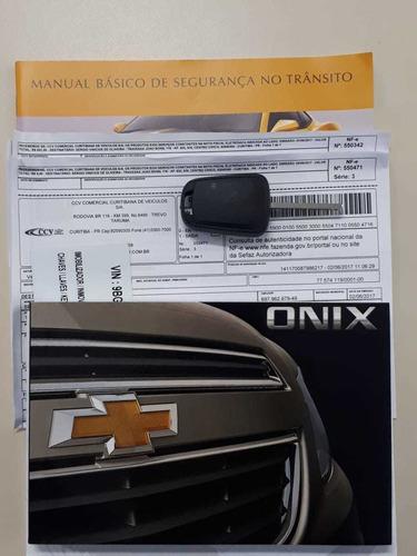 onix 1.4 ltz automático top de linha! impecável!