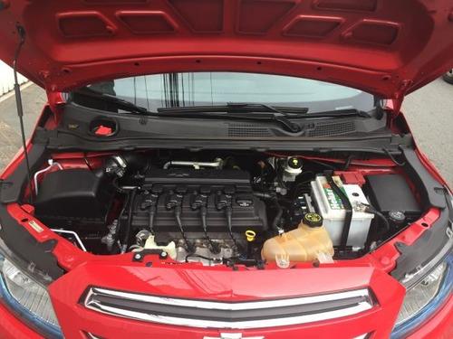onix ltz 1.4 automatico vermelho unico dono 40.000km winikar