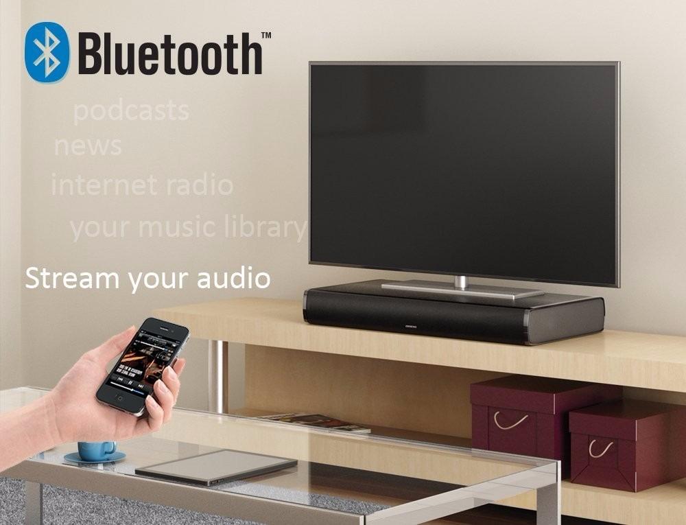 Onkyo ls t10 barra de sonido envision cinema bluetooth for Barra surround