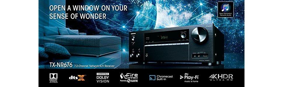 Onkyo Tx-nr676 7 2 Canales Airplay Bluetooth Av Dolby Atmos