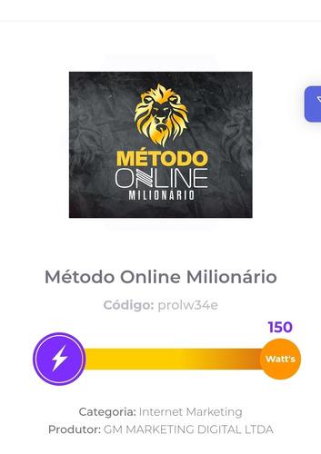 online milionário