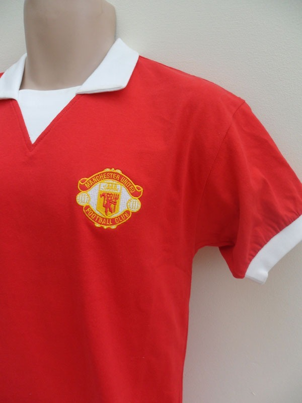 more photos 1285b eee13 Only The Best ! Camiseta Retro Manchester United George Best