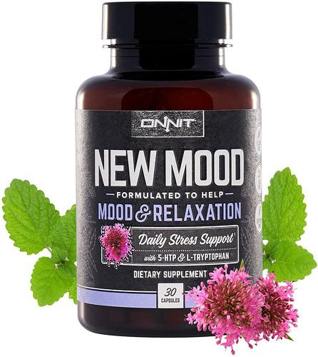 onnit new mood - suplemento diario de estrés, estado de ánim