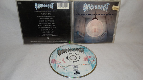 onslaught-in search of sanity (ffrr records '89 copia promoc