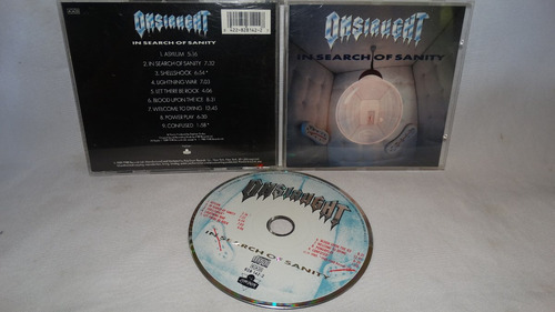 onslaught - in search of sanity ( original london records)