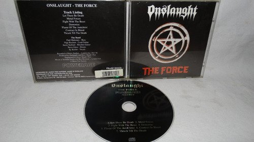 onslaught - the force (powerage press)