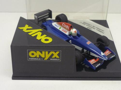 onyx 1/43 tyrrell 020c cesaris f1 1993 # minichamps senna