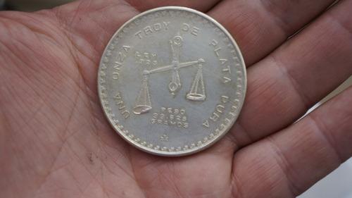 onza  plata  libertad  ley .925  año 1979  barata