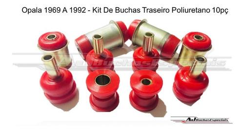 opala 1969 a 1992 - kit de buchas traseiro poliuretano 10pç