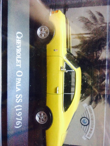 opala 1976 + revista (carros inesquecíveis do brasil)