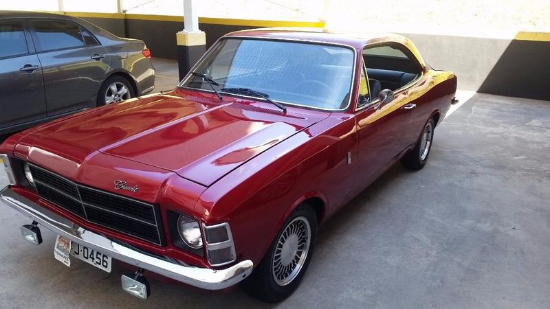 opala 2.5 4 cilindros coupe 2 portas 1979 ar/dh/gnv