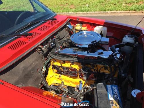 opala comodoro 1984 4100 6 cilindros - lindo e diferenciado