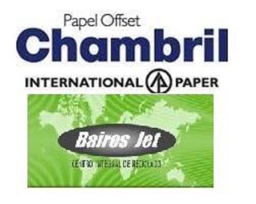 opalina cartulina chambril oficio 118 120 grs resma x 500