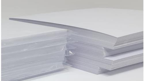 opalina lisa extra blanca 250grs 100hojas tamaño a3