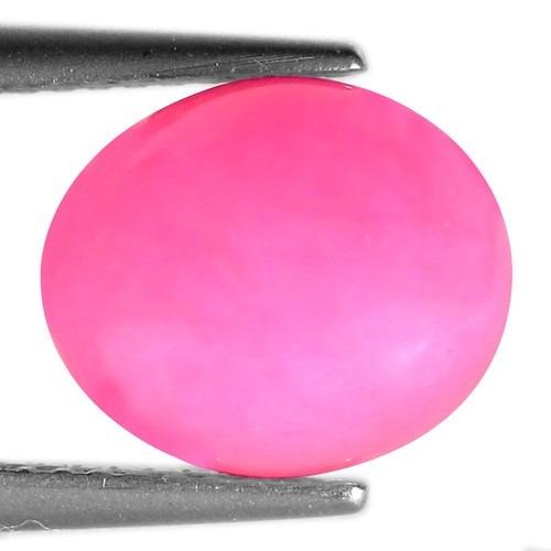 opalo de fuego mexicano rosa mexicano 2,46 cts oval