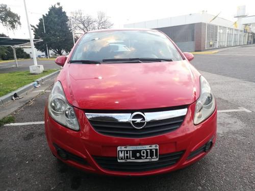 opel corsa 1.3 turbo diesel 2013 rojo diesel 3 puertas