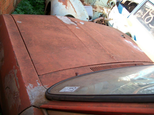 opel kadette rallye com documento placa cinza - bom p/ hot