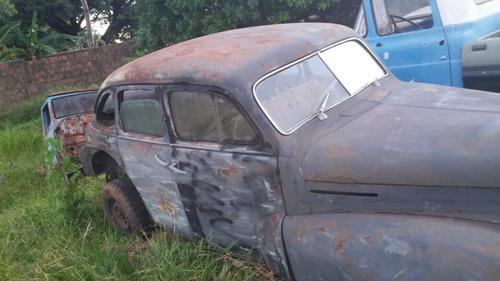 opel kapitan 1952 mecanica original carro para restauro raro