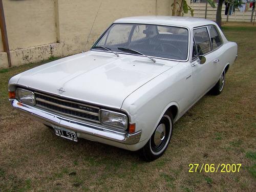 opel rekord coupe - modelo 1966-