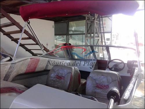 open 470 3v con motor ecologico evinrude 40 hp cero horas
