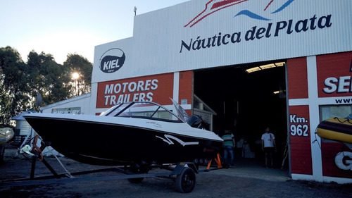 open 490 equipada a estrenar nueva 2020 náutica del plata
