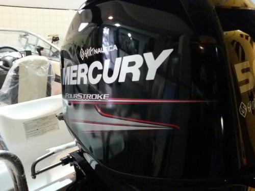 open 520 y mercury 50hp 4t  - permutas