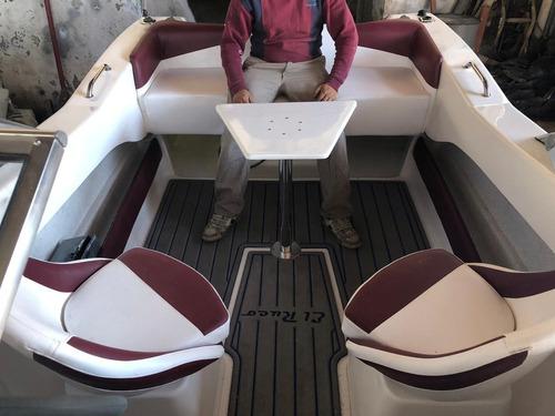 open 5,60 full  10 tripulantes hasta 150 hp. dolar oficial