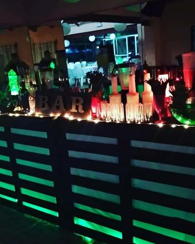 open bar para fiestas y eventos