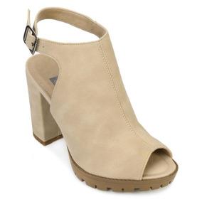 fae72fa06b Sapato Feminino Dakota Anita - Sapatos Creme no Mercado Livre Brasil