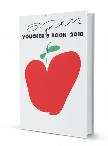 open voucher's book   edición 2018   35% off!