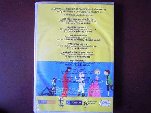 opera anime dvd arias animada de opera silvia rittner sellad