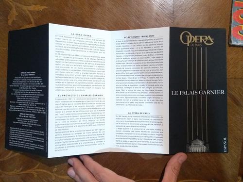 ópera de parís. le palais garnier. español