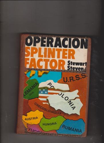 operacion splinter factor(stewart steven)