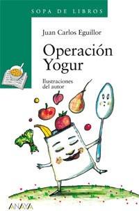 operación yogur(libro infantil y juvenil)