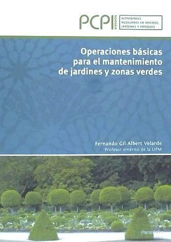 operaciones b¿sicas para mantenimiento de jardines y zonas v