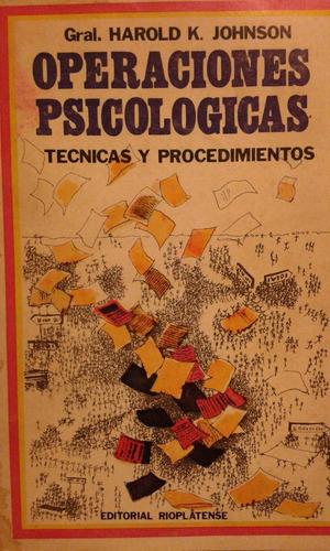 operaciones psicològicas. tecnicas y procedimientos.