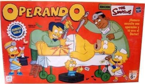 Operando A Homero Los Simpson Juego De Mesa Hasbro Gaming 1 110