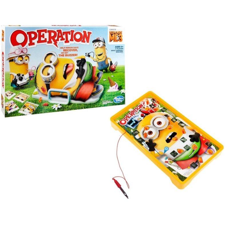 Hasbro Gaming Juego De Mesa Operando Minions C1342 Los Mejores